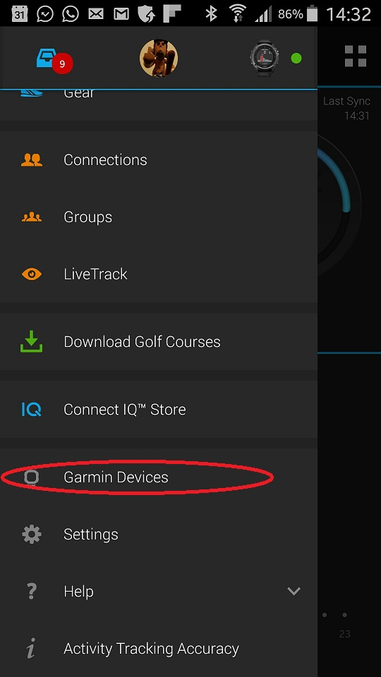 Garmin Connect Mobile App >> Changing The Settings With Garmin Connect Mobile Vgfsyhcxft